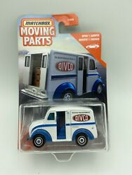 2020 Matchbox Moving Parts Divco Milk Truck Opening Doors Free Shipping