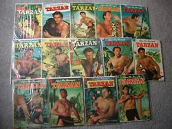 Vintage Dell And Dc Golden Age Tarzan Comic Books .. Lot Of 45