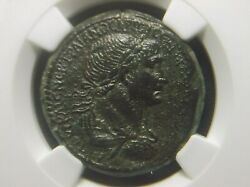 Roman Provincial Coin Ae28 Of Emperor Trajan From Antioch Ngc Ch Xf 4006