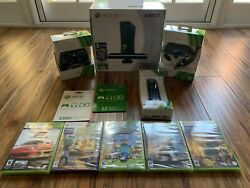 Huge Xbox 360 Kinect Console 250gb Bundle W/ 5 Games Brand New Factory Sealed