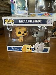 Funko Pop Disney Lady And The Tramp 2pack Vinyl Figure Special Edition