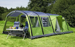 Berger Tunnel Tent Magalo 6-l Deluxe Free Shipping Worldwide