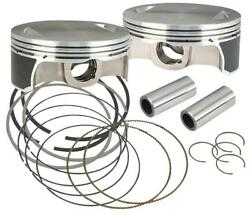 Sands Cycle Pistons 111/117/124 .010 106-3872a