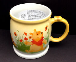 Disney Store Mug - Watercolor Collection - Winnie The Pooh - Coffee Cup - New