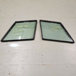 Original Land Rover Range Rover Classic Rear Left And Right Glass Triplex Oem