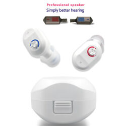 2020 New Rechargeable Invisible Digital In The Ear Hearing Aids Sound Amplifier