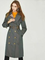 Womenand039s Trench Coat Spring Autumn With Belt Casual Jacket Clothing Outerwear New