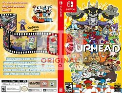 Cuphead Custom Cover for Nintendo Switch $10.00