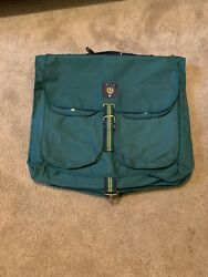 Vtg 90's Moss Green Polo By Garment Bag Suits