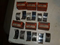 Nos 6 Johnson Bronze Connecting Rod Engine Bearings-ph-19 X12 Plymouth 1932-1941
