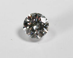 Certified .80ct Round Brilliant Cut Diamond Gia G Color Si1 Clarity Excellent...