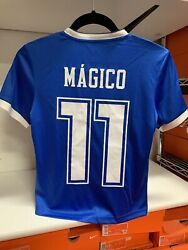 Umbro El Salvador Youth Unisex Soccer Jersey Magico 11 Size Youth Large Only
