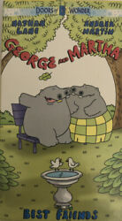 George And Martha Best Friends-doors Of Wondervhs 1999tested-very Rare-ship24h