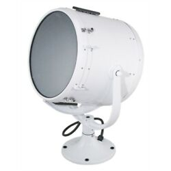 Perko 1902 004 Wht Solar-ray 19 Searchlight Head Without Control, Boat Yacht
