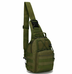 Outdoor Military Tactical Chest Pack Bag Hiking Trekking Climbing Shoulder Bags $12.99