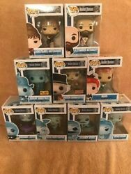 Funko Pop Disney Haunted Mansion Set Of 9 Including Exclusives And2020 Hm Set Of 3
