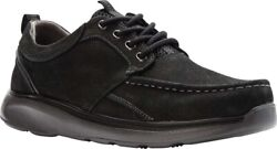 Propet | Orson Oxford Menandrsquos Shoes In Black Tumbled Leather - New