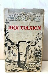 Lord Of The Ring Boxed Set - The Authorized Edition Of The Famous Fantasy