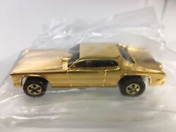 Hot Wheels Plymouth Duster Mongoose 24k Gold Plated