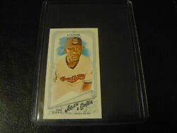 2018 Topps Allen And Ginter Mini 366 Francisco Lindor Sspfrom Rip Card