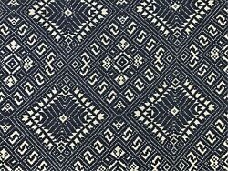 Jasper Fabrics Michael Smith Marina Navy Gray Water Resistant Upholstery Fabric
