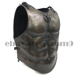 Loin Armour Muscle Jacket Medieval Cuirass Leather Jacket X-mas