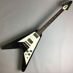 Used Navigator / Esp Flying V Rose Fb Great Playing Condition W/hsc Freeshipping