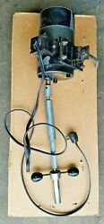 Neway Valve Seat Cutter Power Head Drive Unit Fast Speed W/ 3 Foot Track Section