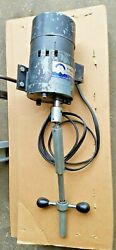 Neway Valve Seat Cutter Power Head Drive Unit Slow Speed W/ 3 Foot Track Section