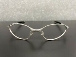 OAKLEY AUTHENTIC C WIRE SILVER FRAME ONLY NO LENSES NEW WITH BLEMISH $55.00
