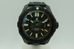 Boldr Odyssey Carbon Green 300m Diver 45mm Warranty New Swiss 3 Straps Sold Out