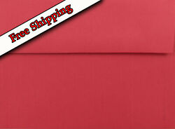Holiday Red A7 Envelopes 5-1/4 X 7-1/4 For Up To 5 X 7 Greeting Cards Response