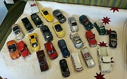 Vintage Toy Lot Of 24maisto And Others Carschinagreat Lot1999-2000's Free Ship