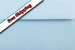 Pastel Blue A7 Envelopes 5-1/4 X 7-1/4 For 5 X 7 Greeting Cards Invitations Baby