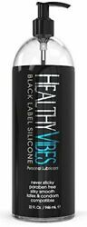 32 Oz Healthy Vibes Black Label Silicone Personal Lubricant - Non Sticky Lube