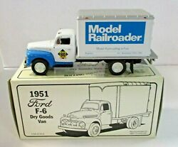 First Gear 1/34th Scale 1951 Ford F-6 Dry Goods Van - Model Railroader
