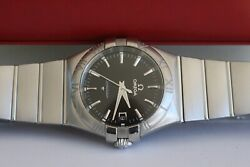Omega Constellation Stainless Steel 35mm 123.10.35.60.01.001 All Papers 2018