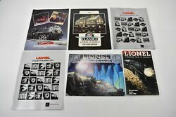 Vintage Lionel Catalogs Roster 1986 Century Club Toy Fair Collector's 83 88