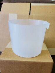 XLarge Cage Cup 8 cups Chicken Feed and water cup 12pk Clear. Made in USA