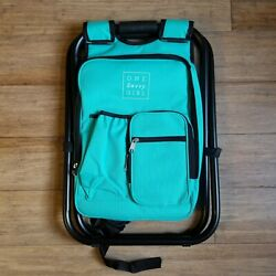 One Savvy Girl Ultralight Backpack Cooler Chair Compact Lightweight Portable $42.00