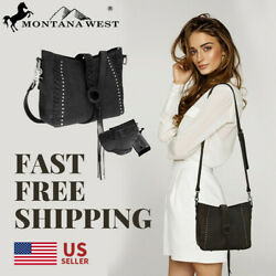 Portable Genuine Leather Women#x27;s Concealed Carry Crossbody Shoulder Bag $54.84