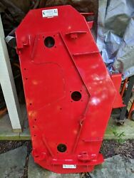 52 Powder Red Zero Turn Riding Mower Deck Assembly Shell Simplicity Citation