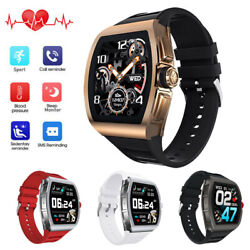 2020 Smart Watch Heart Rate Blood Pressure Monitor Phone Mate For Iphone Android