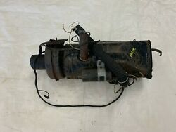 1954-1956 Cadillac Eldorado Rear Heater Assembly Back Seat Blower Housing Duct
