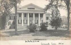 Cornwall Ct The Foster Private School Front Facade Rppc Dated 1905-06
