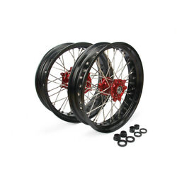 Front Rear Wheels Set For Crf450x Crf250x Crf250r Cr250r Cr125r Motorcycle