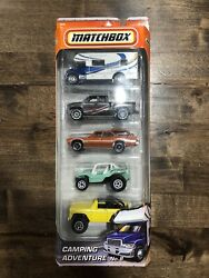 2010 Matchbox Camping Adventure No. 8 National Parks Mb 5 Pack Exclusive R0604
