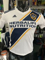Adidas Los Angeles Galaxy Youth Home Soccer Jersey 2019 White Size Youth Large