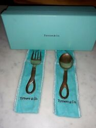 And Co.baby Fork And Spoon Peretti Italy
