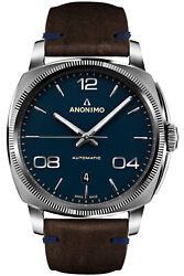 Watch Man Anonimo Epurato Am400001108k35 Leather Brown
